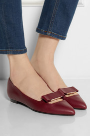 Lanvin Leather point-toe flats