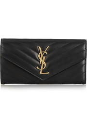 Saint Laurent Monogramme quilted leather wallet