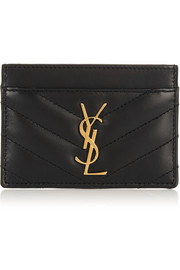 Saint Laurent Quilted leather cardholder