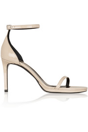 Saint Laurent Jane patent-leather sandals