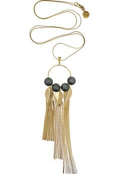 MajeLeaf pendant necklace