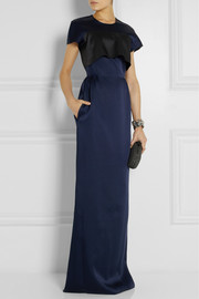 Derek Lam Cutout satin gown