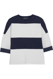 Derek Lam Striped cashmere-blend sweater