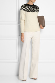 Derek Lam Two-tone cashmere sweater