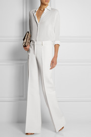 Derek Lam Wool-blend flared pants
