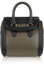Alexander McQueen The Heroine small studded leather shoulder bag