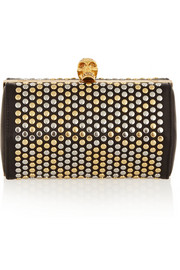 Alexander McQueen Studded leather clutch