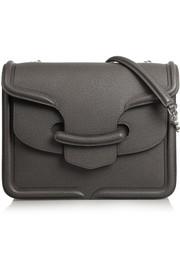 Alexander McQueen The Heroine textured-leather shoulder bag