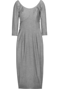 Vivienne Westwood Red LabelScoop-neck wool-blend dress