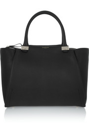 Trilogy leather shopper