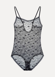 Allegorie Apologue metallic lace bodysuit