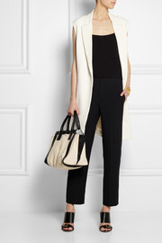 Chloé Cropped cady straight-leg pants