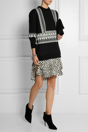 Chloé Jacquard-knit wool sweater