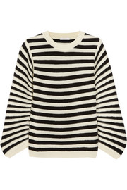 Chloé Striped textured-wool sweater