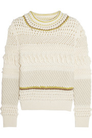 Chloé Textured wool-blend sweater