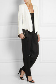 Chloé Textured-canvas tapered pants