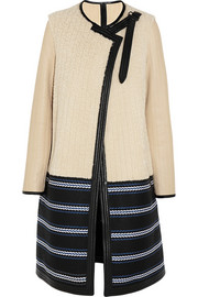 Chloé Shearling and leather coat