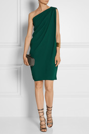 Lanvin One-shoulder crepe dress