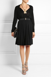 Lanvin Pleated jersey dress