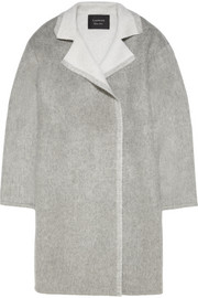 Lanvin Oversized wool and mohair-blend coat