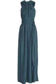 Lanvin Gathered jersey-crepe gown