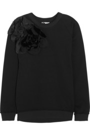 Lanvin Appliquéd cotton-jersey sweatshirt
