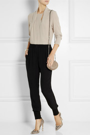 Lanvin Silk-crepe top