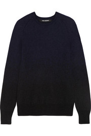 Neil Barrett Dégradé knitted sweater