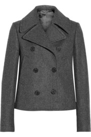 Neil Barrett Double-breasted wool-blend peacoat