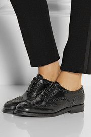 Church's The Burwood glossed-leather brogues