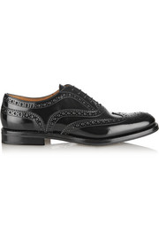 The Burwood glossed-leather brogues