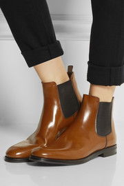 Church's Monmouth glossed-leather Chelsea boots