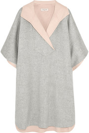 Paul & Joe Aspen brushed wool-felt cape