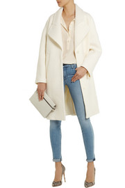 Carven Wool-bouclé cocoon coat