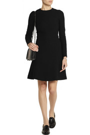 Carven Seersucker wool-blend dress