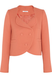 Carven Wool-crepe jacket