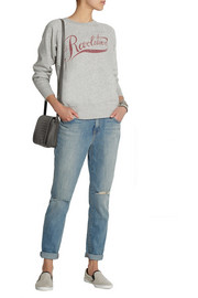 Étoile Isabel Marant Revolution printed cotton-blend sweatshirt