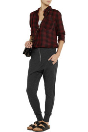 Étoile Isabel Marant Nina cotton and wool-blend track pants