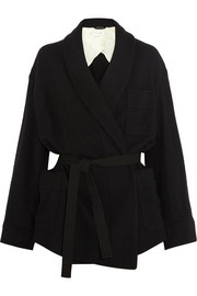 Étoile Isabel Marant Janelle wool-blend wrap coat