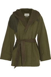 Étoile Isabel Marant Ellison oversized cotton and linen-blend coat