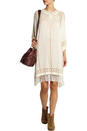 Étoile Isabel Marant Enery embroidered georgette dress
