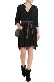 Étoile Isabel Marant Bray pleated georgette dress