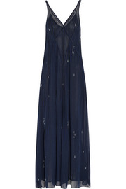 Cassidy printed chiffon maxi dress