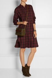 Étoile Isabel Marant Ilaria oversized plaid cotton-flannel dress