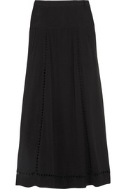 Étoile Isabel Marant Esmee embroidered crepe maxi skirt