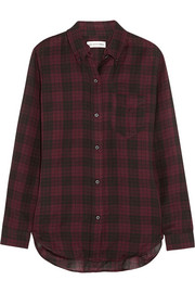 Étoile Isabel Marant Ipa plaid cotton-twill shirt