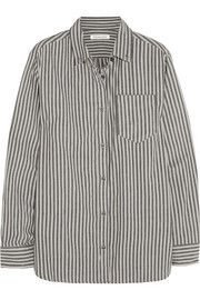 Étoile Isabel Marant Waida oversized striped cotton shirt
