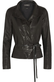 Isabel Marant Barney leather wrap jacket