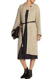 Isabel Marant Easton belted tweed coat