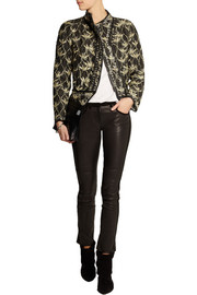 Isabel Marant Orval printed quilted silk-shantung jacket